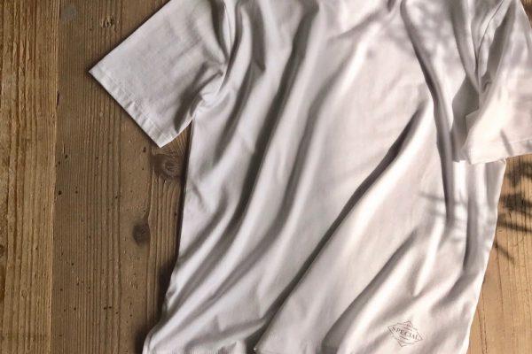 「ドロップショルダーホワイトTシャツ」販売のお知らせ