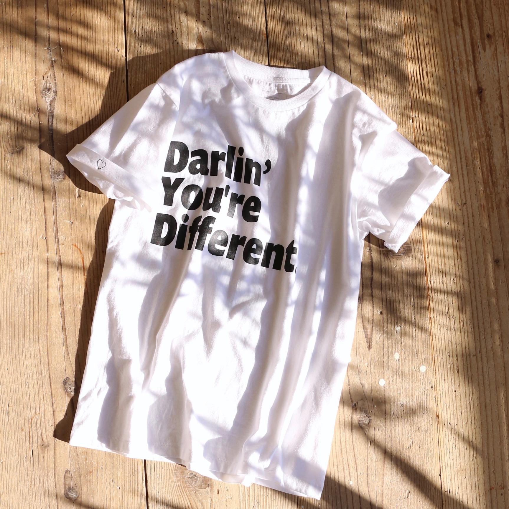 Darlin' ロゴ Tシャツ 販売のお知らせ