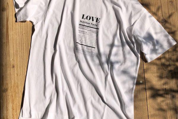 LOVE NUTRITION Tシャツ 発売のお知らせ