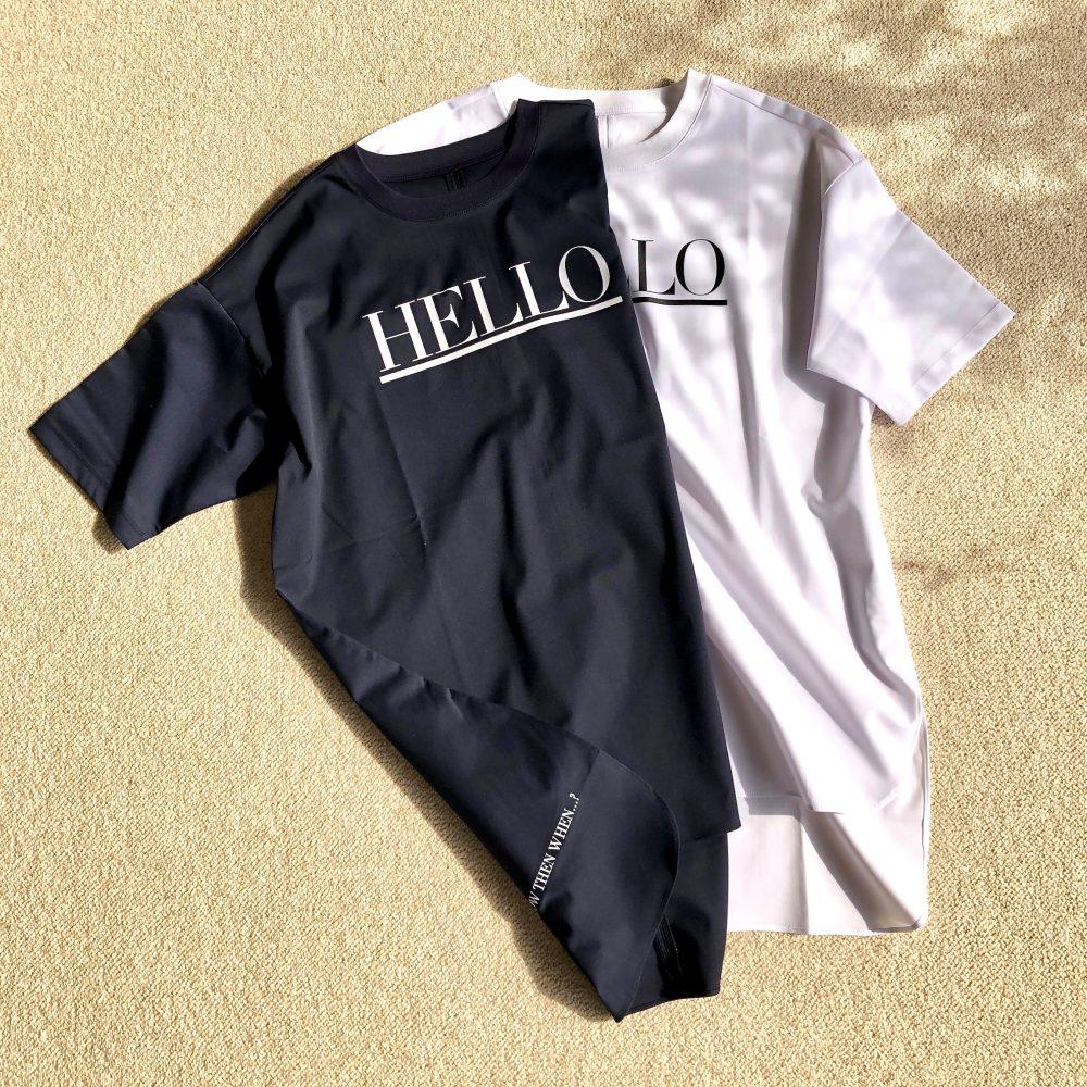 HELLO プリントシャツ 販売のお知らせ